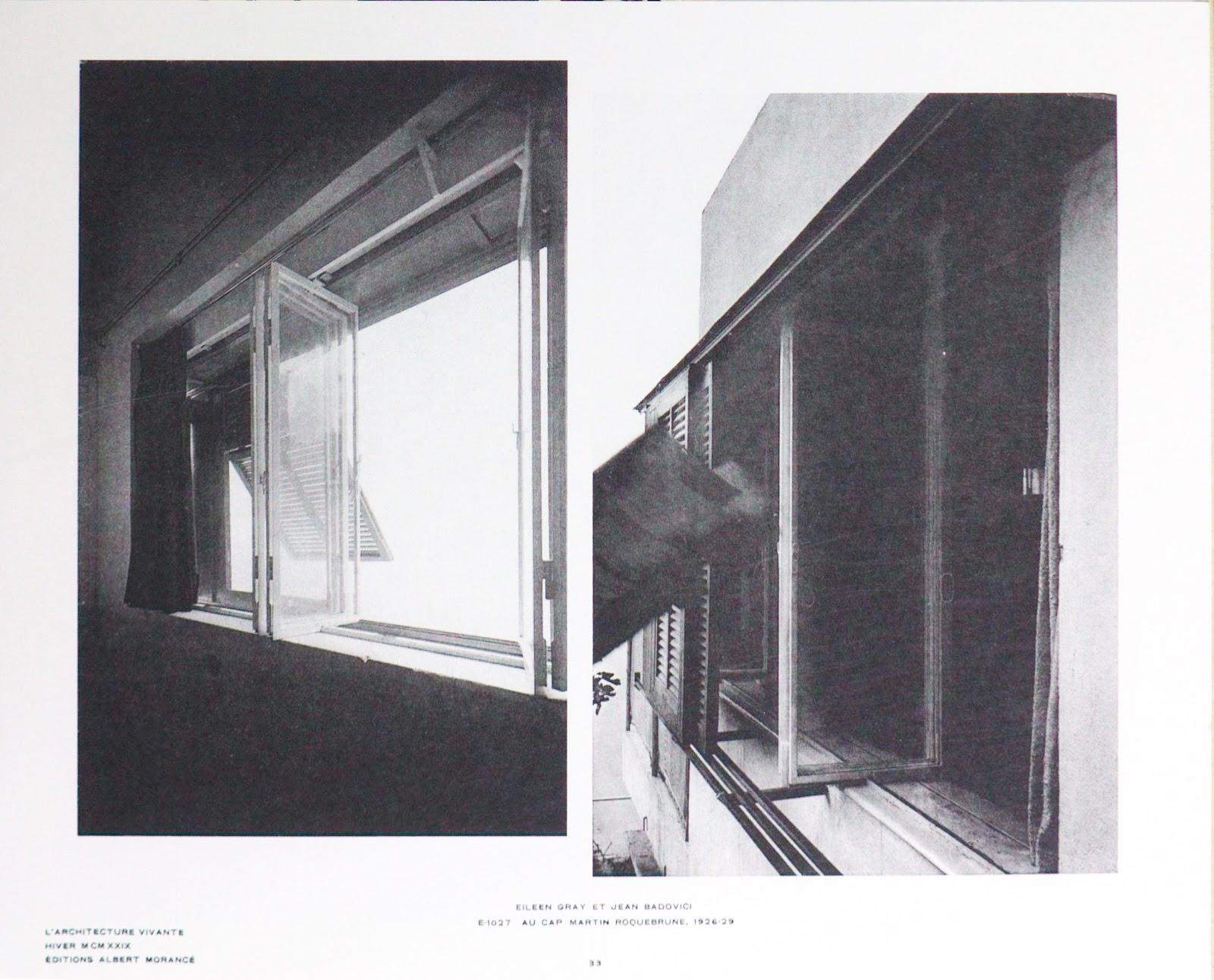 E 1027 The Mechanical Ballet Part Ii Windows Shutters