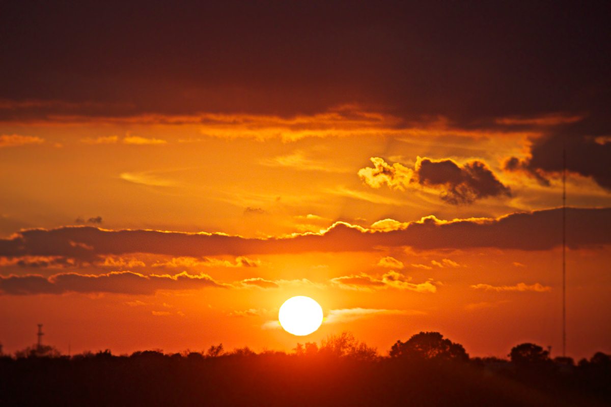 texas sunset landscape photography