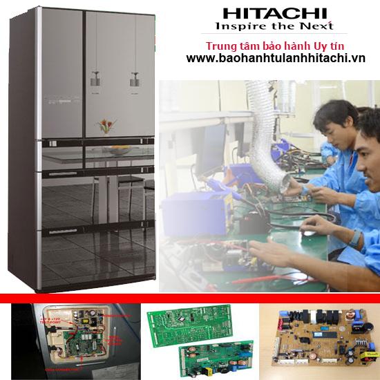 Sửa mạch tủ lạnh Hitachi tại Hà Nội