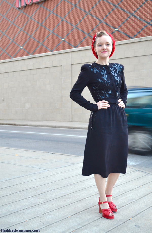 An awesome Star Wars meets 1940s vintage outfit!