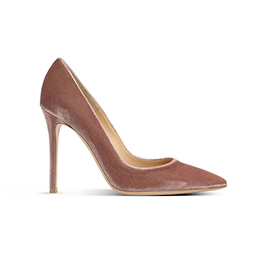 Gianvito Rossi velvet stiletto pumps