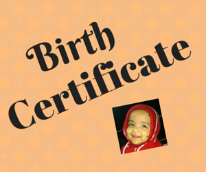 Get birth certificate Chandigarh