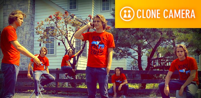 برنامج تصوير نفسك مرتين كأنك تخاطب نفسك أو تعاملها على أساس أنها شخص أخر للأيفون | Clone Video Cam