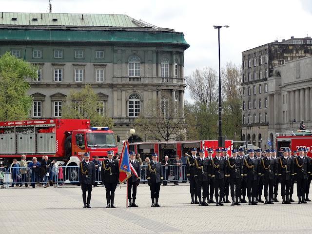 Dzień Strażaka na placu Piłsudskiego