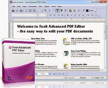 Foxit Advanced PDF Editor v3.1.0 + Crack