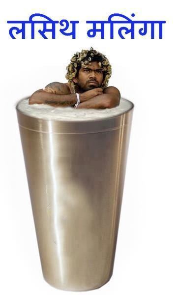 Lasith Malinga Funny IPL Wallpapers