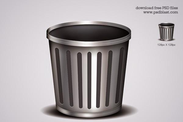 Trash Icon PSD