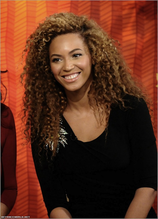 Beyonce natural hair 