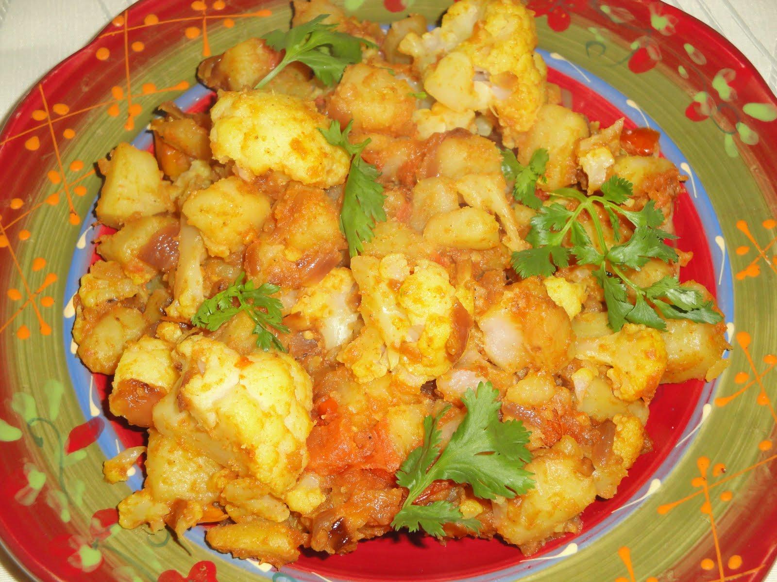 Food and Taste: Aloo Gobi