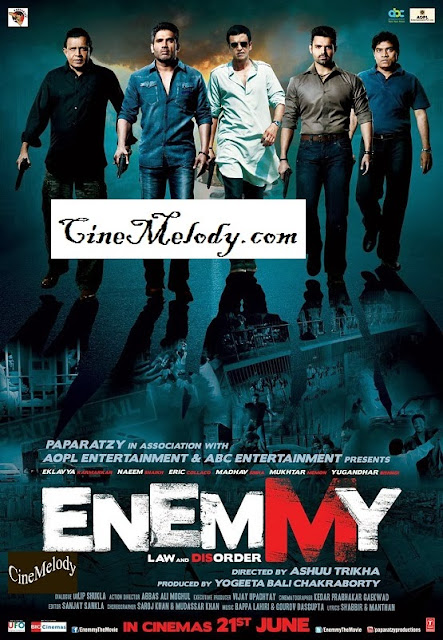 Enemmy  Hindi Mp3 Songs Free  Download  2013