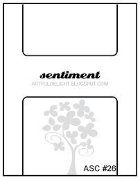 November Card Sketch Challenge ASC #26