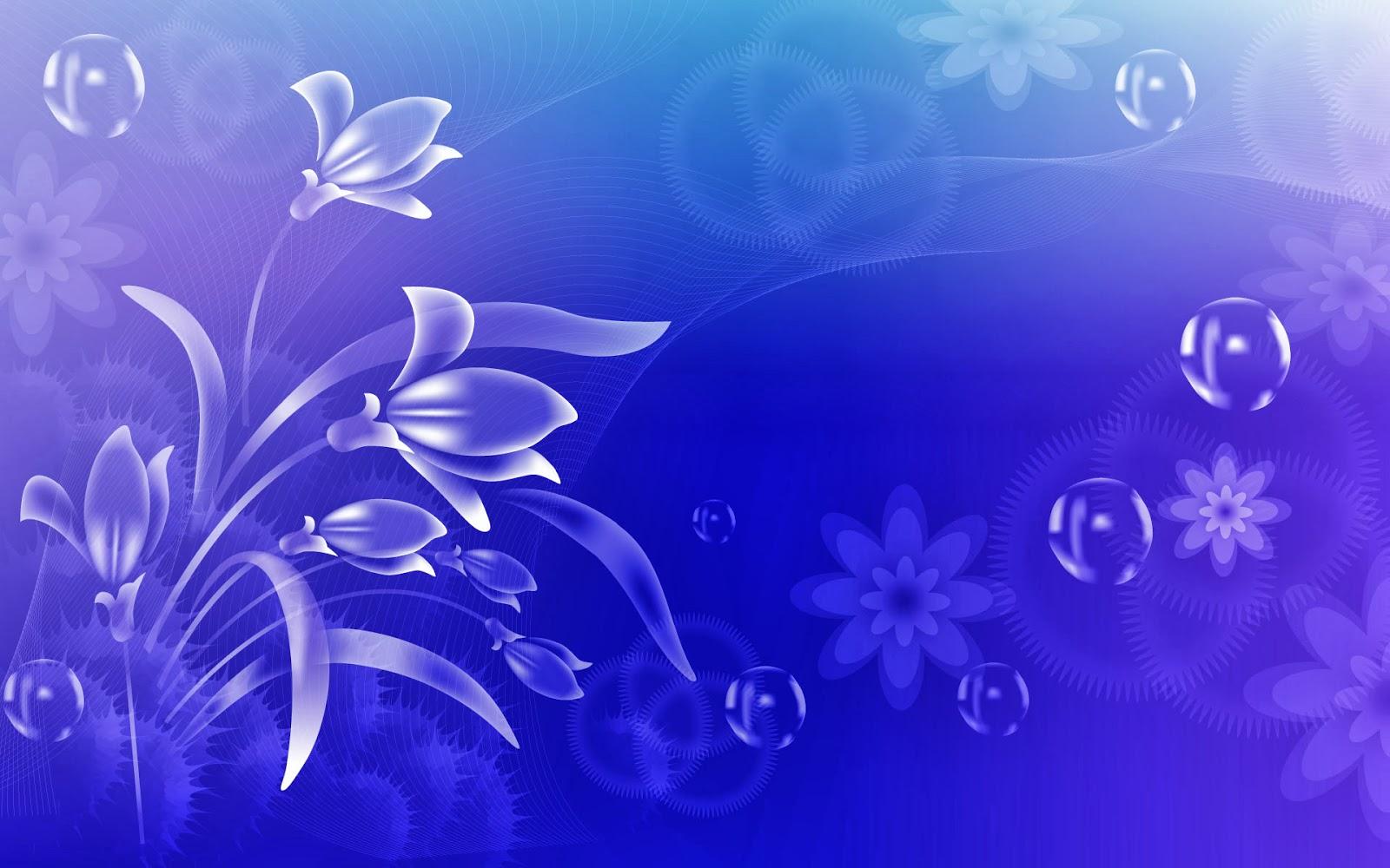 Fondo de pantalla abstracto flor con burbujas for Wallpapers abstractos