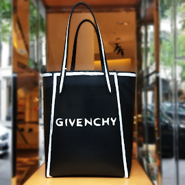 Givenchy Stargate Leather Tote.