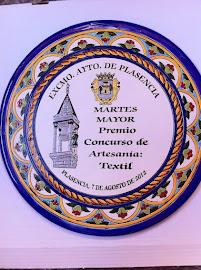 Premio en Artesanía Textil en el Martes Mayor de Plasencia.