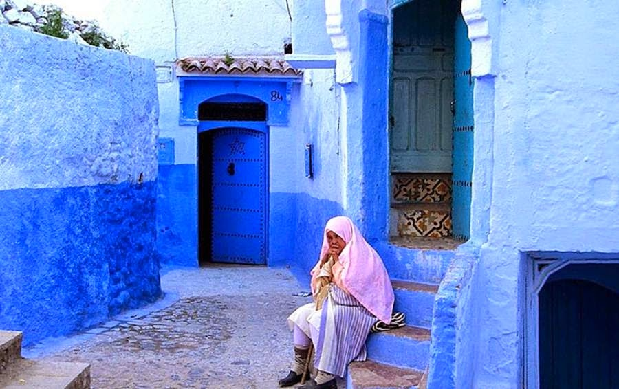 Mail2day Chefchaouen Majestic Blue City Of Morocco 27