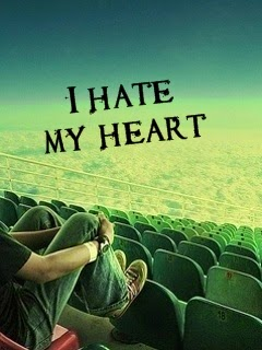 I Hate My Heart 240x320 Mobile Wallpaper