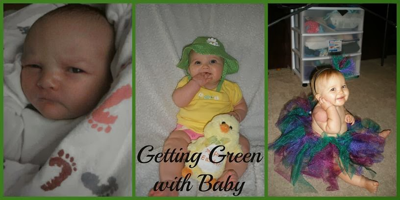 Getting Green with Baby - A First Time Mom's Journey to More Natural Living