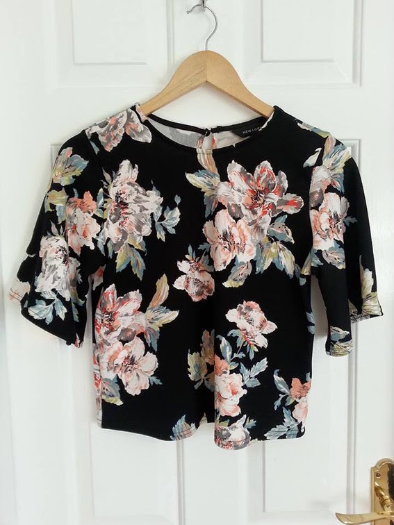 new look floral co-ord fashion blogger