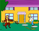 Solucion Homero Simpson Saw Game Ayuda