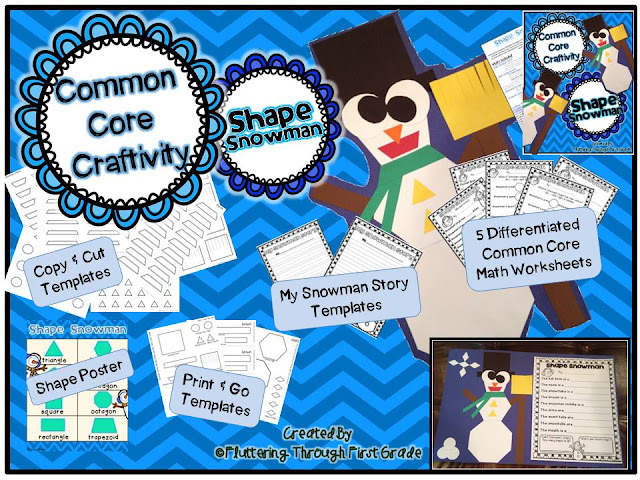 http://www.teacherspayteachers.com/Product/Common-Core-Craftivity-Shape-Snowman-1038104