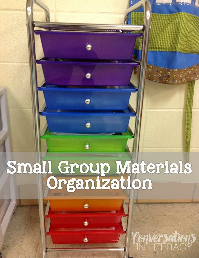 organizing your small group reading materials