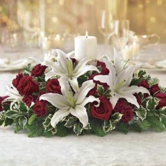 Christmas table centrepieces ideas home interior design
