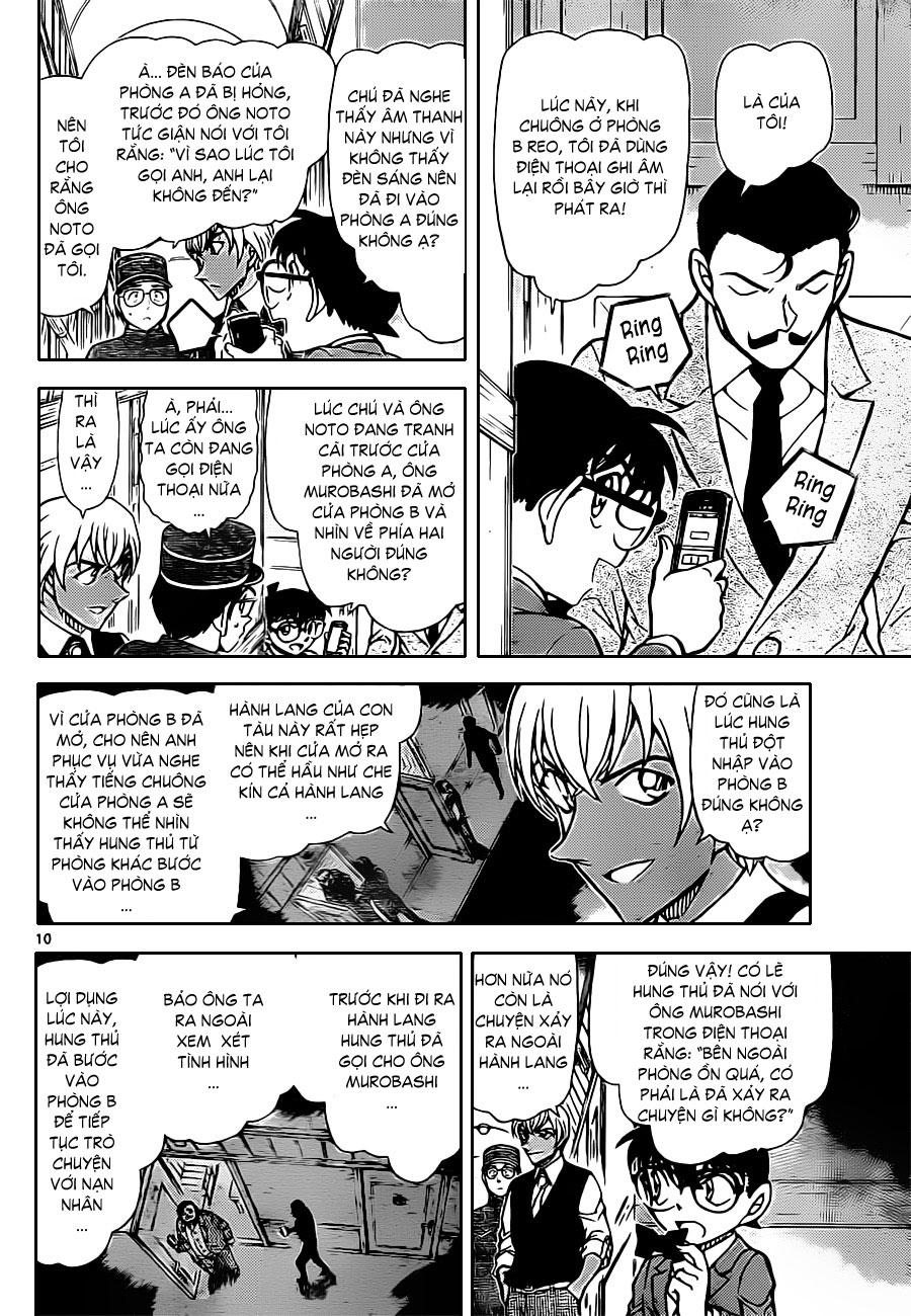 Thám Tử Lừng Danh Conan - Chapter 822 - Pic 11
