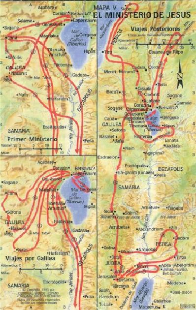 Yahweh es mi pastor mapas b blicos for Ministerio del interior ubicacion mapa