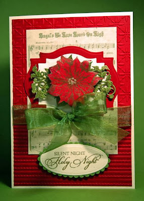 Our Daily Bread Designs, Blessed Christmas, Poinsettia Die