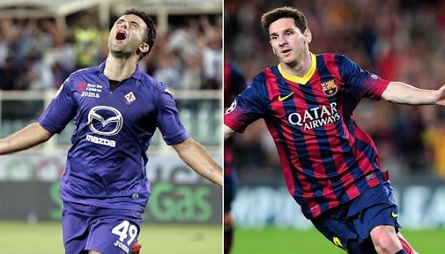 Fiorentina vs Barcelona en vivo
