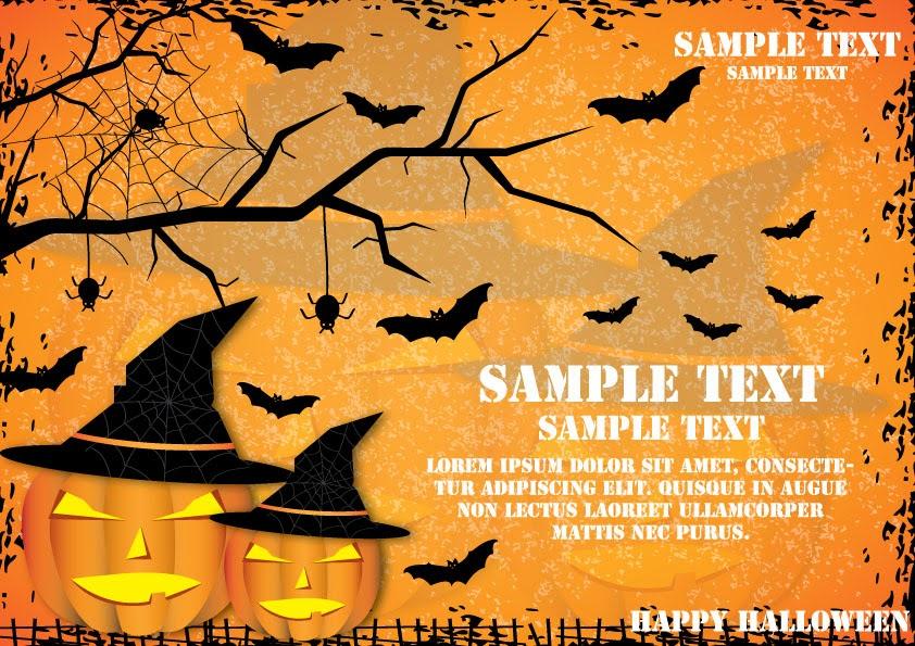 Halloween wooden banner
