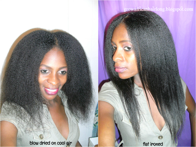 Blow Drying Natural Hair On Cool