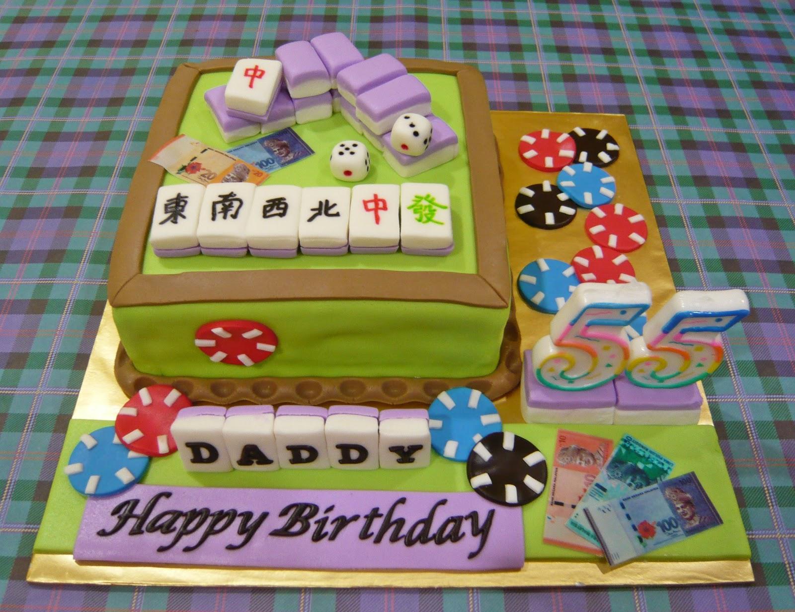 Jenn Cupcakes Muffins Mahjong Cake
