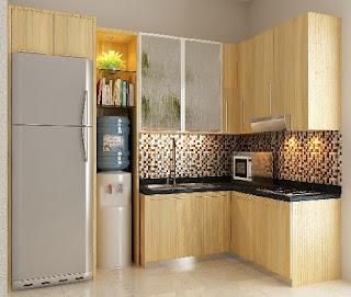 harga kitchen set minimalis murah