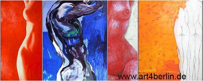 Künstler Maler Berlin sale moderne kunst abstrakte ölgemälde große acrylbilder
