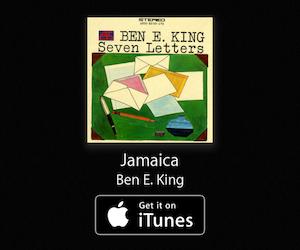 """https://itunes.apple.com/us/album/jamaica/id68098611?i=68097548&uo=6&at=10lIUc&ct="""" target=""""itunes_store"""">Jamaica - Ben E. King"""