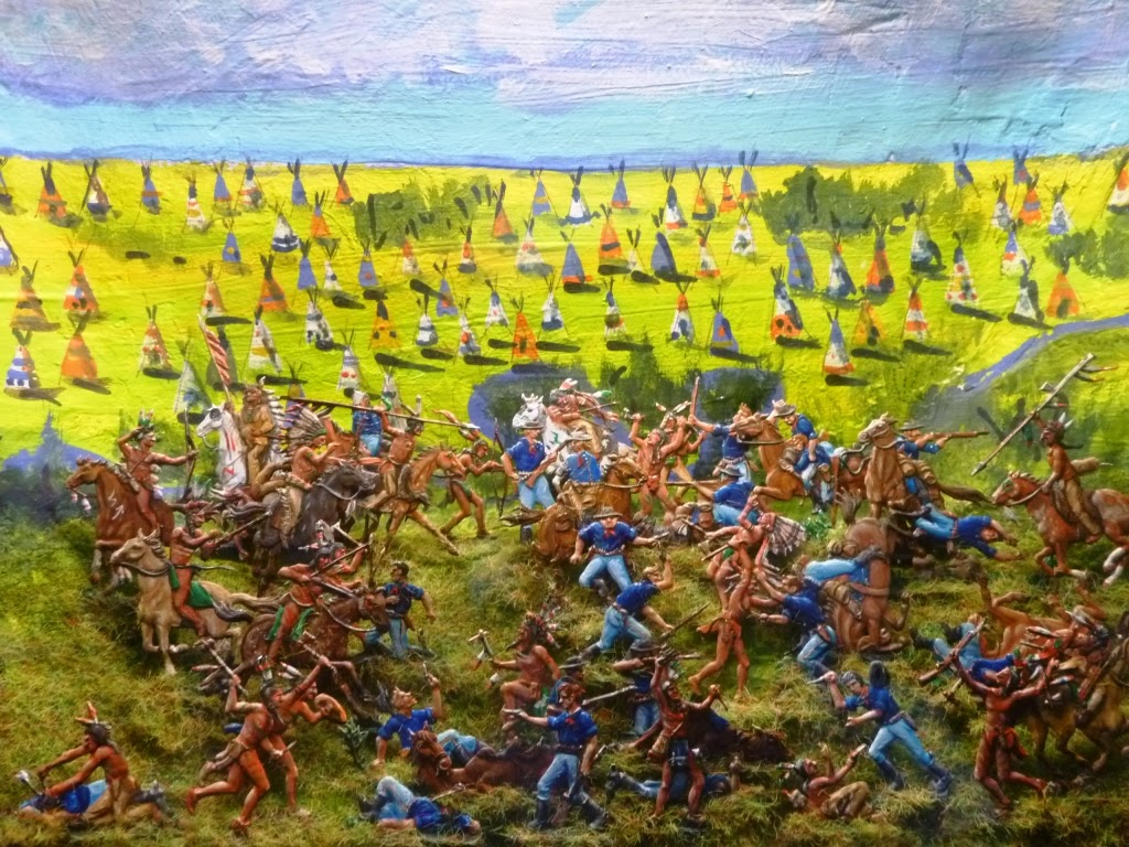 the battle of little big horn Custer's last battle of the little bighorn (1899) for the purpose of inquiring into major reno's conduct at the battle of the little big horn river.