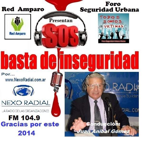 Me podras escuchar por FM 104.9 y www.NexoRadial.com.ar en marzo 2015