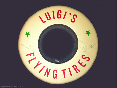 Luigi's Flying Tires hat souvenir Cars Land Carsland DCA DIsney