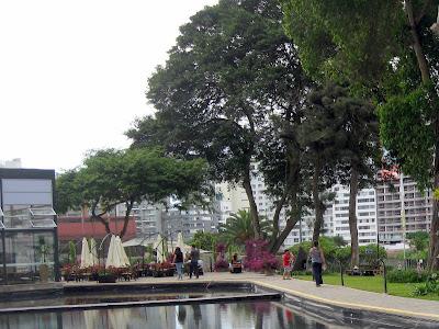 Café do Museu de Arte Contemporânea de Lima