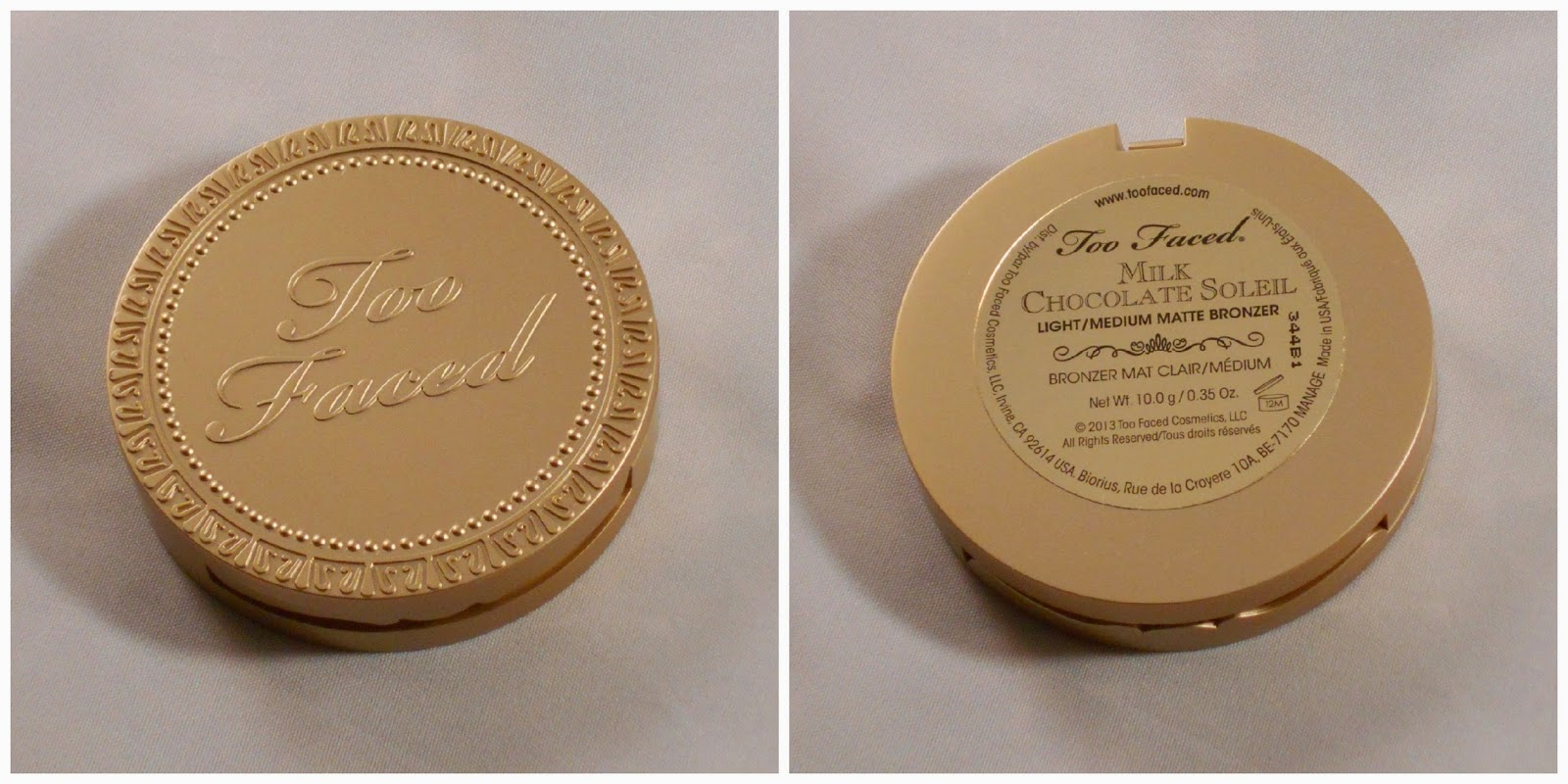 Makeup, Fashion & Royalty: Review: Too Faced Milk Chocolate Soleil ...