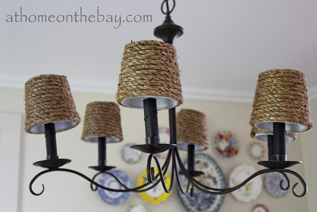 pottery barn inspired lamp shade