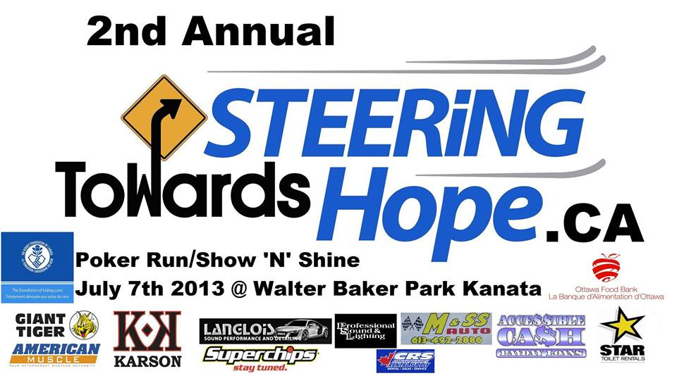 2nd Annual Steering Towards Hope Poker Run