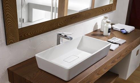 Lavabos decoractual dise o y decoraci n - Encimeras bano madera ...