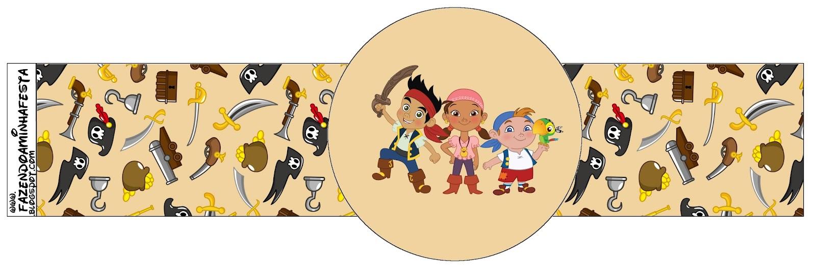 Imprimibles de Jake y los piratas de Nunca Jamás 6.