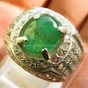 Cincin Batu Permata Zamrud  - SP739