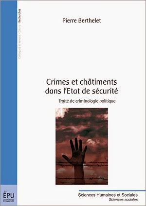 Crimes et châtiments dans l'Etat de sécurité (2015)