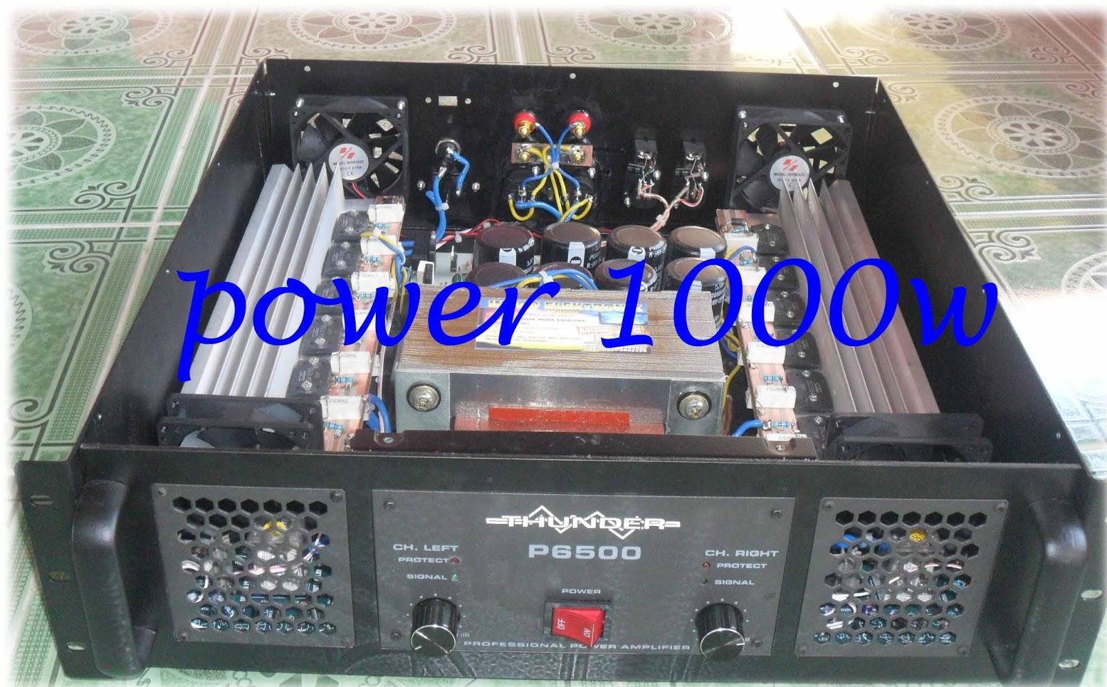 Merakit Power Amplifier 2x 1000 Watt Untuk Sound System