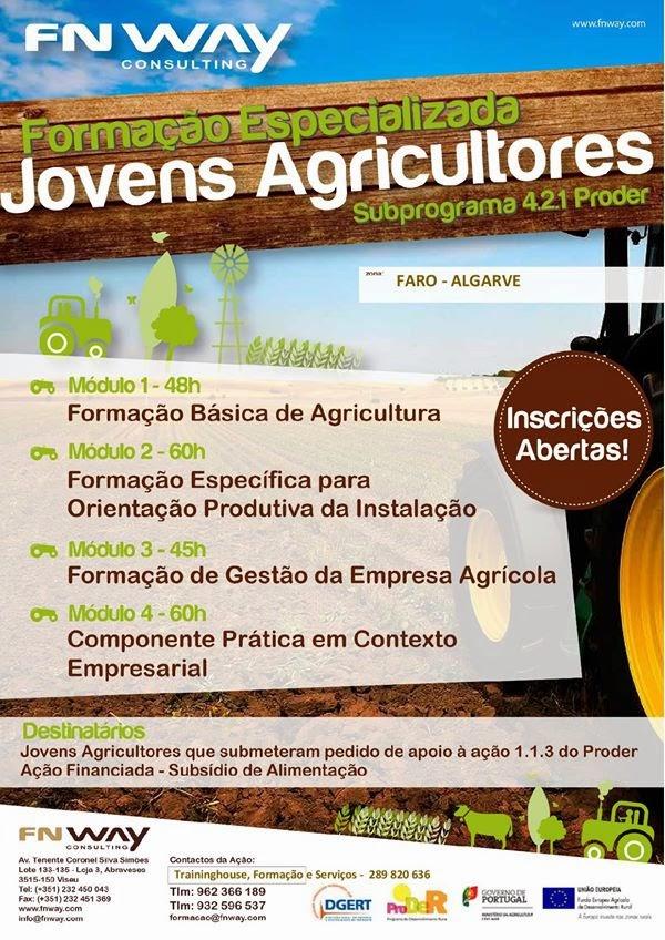 Formação especializada financiada no âmbito do PRODER – Faro