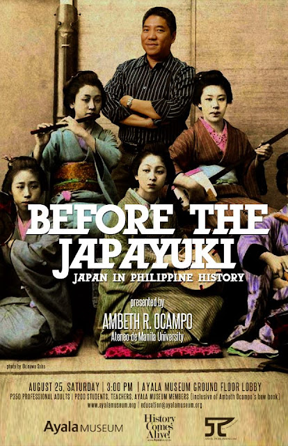 Ambeth Ocampo Before the Japayuki poster